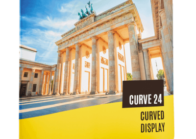 Curve 24 Fabric Banner